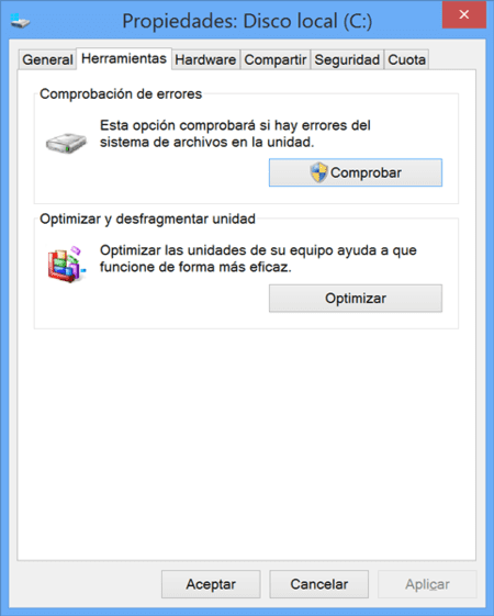 CHKDISK de Windows
