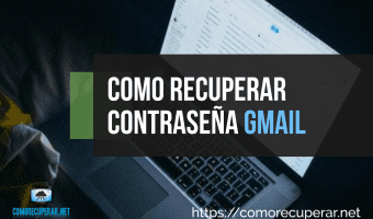 Como recuperar la contraseña del correo Gmail