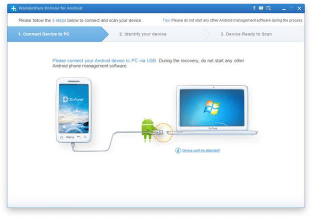 conectar tu móvil Android en modo de recuperación